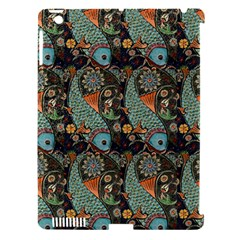 Pattern Background Fish Wallpaper Apple Ipad 3/4 Hardshell Case (compatible With Smart Cover) by Celenk