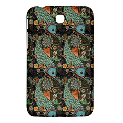 Pattern Background Fish Wallpaper Samsung Galaxy Tab 3 (7 ) P3200 Hardshell Case  by Celenk