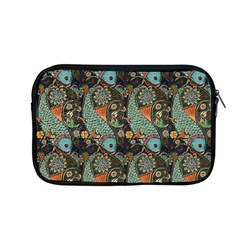 Pattern Background Fish Wallpaper Apple Macbook Pro 13  Zipper Case by Celenk