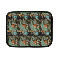 Pattern Background Fish Wallpaper Netbook Case (small)  by Celenk