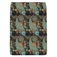 Pattern Background Fish Wallpaper Flap Covers (s)  by Celenk
