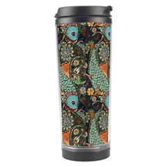 Pattern Background Fish Wallpaper Travel Tumbler by Celenk