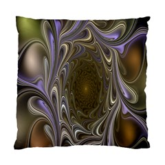 Fractal Waves Whirls Modern Standard Cushion Case (one Side) by Celenk