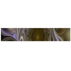 Fractal Waves Whirls Modern Large Flano Scarf  by Celenk
