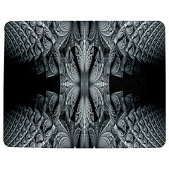 Fractal Blue Lace Texture Pattern Jigsaw Puzzle Photo Stand (rectangular) by Celenk