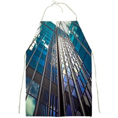 Architecture Skyscraper Full Print Aprons by Celenk
