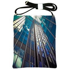 Architecture Skyscraper Shoulder Sling Bags by Celenk