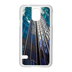 Architecture Skyscraper Samsung Galaxy S5 Case (white) by Celenk