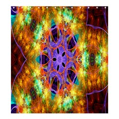 Kaleidoscope Pattern Ornament Shower Curtain 66  X 72  (large)  by Celenk