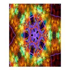 Kaleidoscope Pattern Ornament Shower Curtain 60  X 72  (medium)  by Celenk