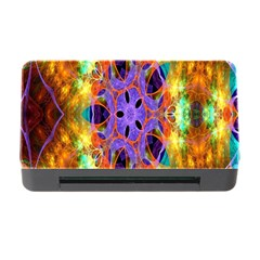 Kaleidoscope Pattern Ornament Memory Card Reader With Cf by Celenk