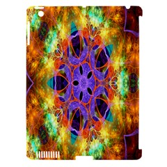 Kaleidoscope Pattern Ornament Apple Ipad 3/4 Hardshell Case (compatible With Smart Cover) by Celenk