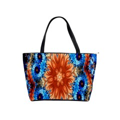 Alchemy Kaleidoscope Pattern Shoulder Handbags by Celenk