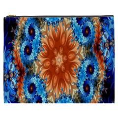 Alchemy Kaleidoscope Pattern Cosmetic Bag (xxxl)  by Celenk