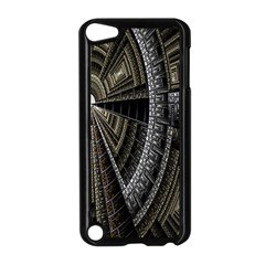 Fractal Circle Circular Geometry Apple Ipod Touch 5 Case (black) by Celenk