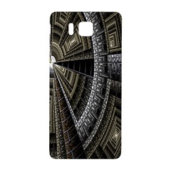 Fractal Circle Circular Geometry Samsung Galaxy Alpha Hardshell Back Case by Celenk