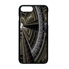 Fractal Circle Circular Geometry Apple Iphone 7 Plus Seamless Case (black) by Celenk