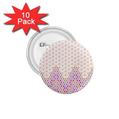 Flower Of Life Pattern 1 1 75  Buttons (10 Pack) by Cveti
