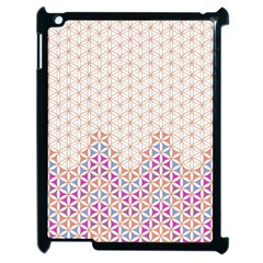 Flower Of Life Pattern 1 Apple Ipad 2 Case (black) by Cveti
