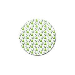 Watercolor Christmas Tree Golf Ball Marker (4 Pack) by patternstudio