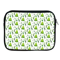 Watercolor Christmas Tree Apple Ipad 2/3/4 Zipper Cases by patternstudio