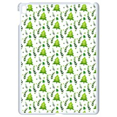 Watercolor Christmas Tree Apple Ipad Pro 9 7   White Seamless Case by patternstudio