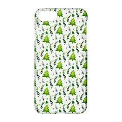 Watercolor Christmas Tree Apple Iphone 8 Hardshell Case by patternstudio