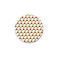 Watercolor Ornaments Golf Ball Marker by patternstudio