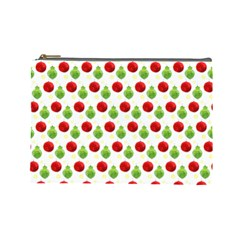 Watercolor Ornaments Cosmetic Bag (large)  by patternstudio