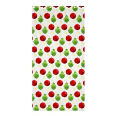 Watercolor Ornaments Shower Curtain 36  X 72  (stall)  by patternstudio