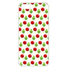 Watercolor Ornaments Apple Iphone 5 Seamless Case (white) by patternstudio