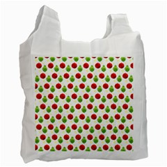 Watercolor Ornaments Recycle Bag (one Side) by patternstudio