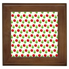 Watercolor Ornaments Framed Tiles by patternstudio