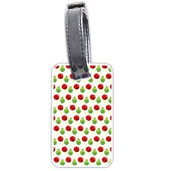 Watercolor Ornaments Luggage Tags (two Sides) by patternstudio