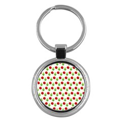Watercolor Ornaments Key Chains (round)  by patternstudio