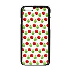Watercolor Ornaments Apple Iphone 6/6s Black Enamel Case