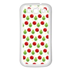 Watercolor Ornaments Samsung Galaxy S3 Back Case (white) by patternstudio