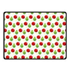 Watercolor Ornaments Double Sided Fleece Blanket (small)  by patternstudio