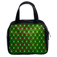 Christmas Tree Classic Handbags (2 Sides) by patternstudio