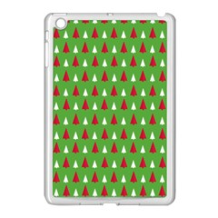 Christmas Tree Apple Ipad Mini Case (white) by patternstudio