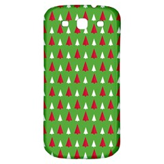 Christmas Tree Samsung Galaxy S3 S Iii Classic Hardshell Back Case by patternstudio