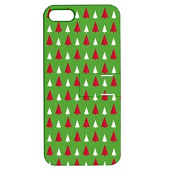 Christmas Tree Apple Iphone 5 Hardshell Case With Stand by patternstudio