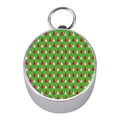Christmas Tree Mini Silver Compasses by patternstudio
