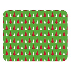 Christmas Tree Double Sided Flano Blanket (large)  by patternstudio