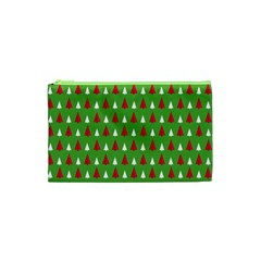 Christmas Tree Cosmetic Bag (xs) by patternstudio