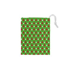 Christmas Tree Drawstring Pouches (xs)  by patternstudio