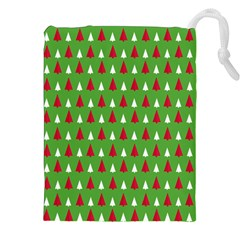 Christmas Tree Drawstring Pouches (xxl) by patternstudio