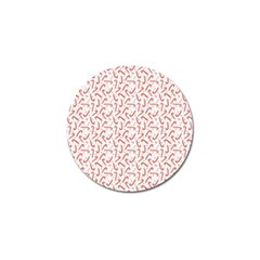 Candy Cane Golf Ball Marker (10 Pack) by patternstudio