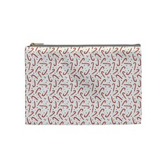 Candy Cane Cosmetic Bag (medium)  by patternstudio