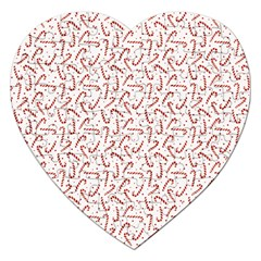 Candy Cane Jigsaw Puzzle (heart) by patternstudio